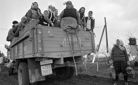 Кравчук: Украина 60 лет горб…