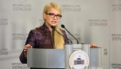 Тимошенко затроллила Порошенко угрозой импичмента: А как же ещё уберечься от вируса Petya?