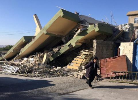 Мощнейшее землетрясение в Ир…