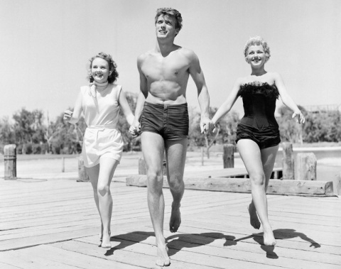 Молодой и горячий Клинт Иствуд в 1956 году