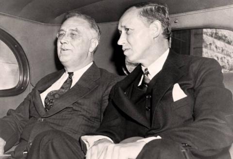 Рузвельт и Гопкинс: дружба с…