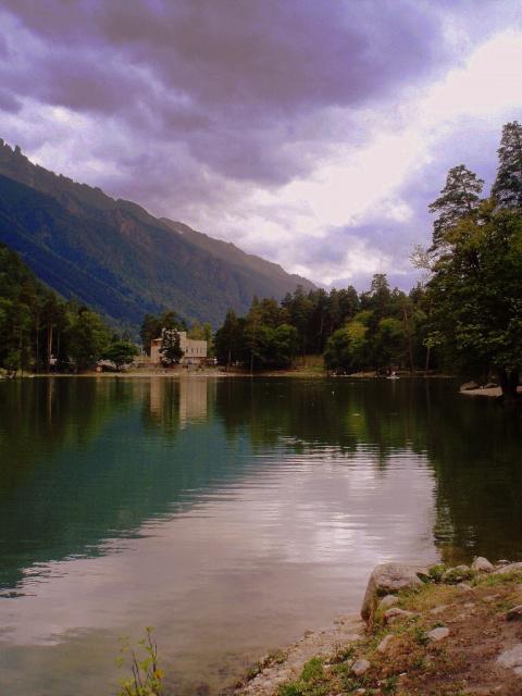 """озеро Караколь- """"Черная вода"""""""
