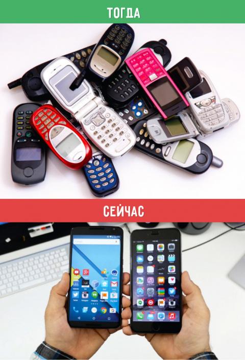 Современные телефоны с необы…