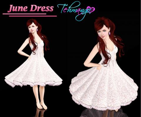 Платье от Tehmango