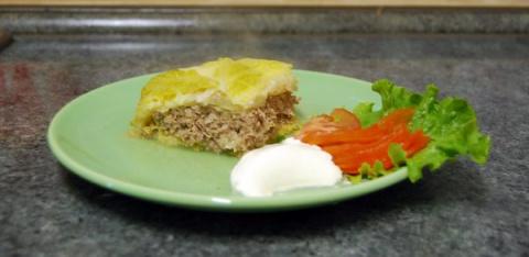 """А ля """"Мусака"""" с савойской капустой. Фото-рецепт."""