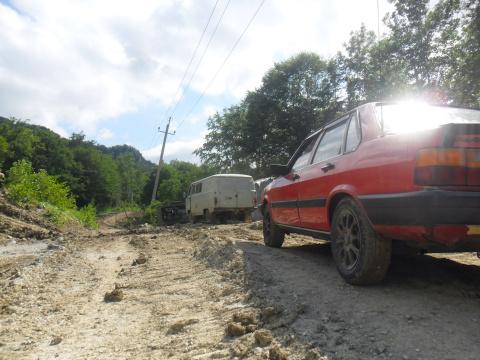 Туапсинский район. Шесси через Апшеронск.
