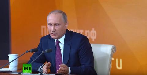 Владимир Путин - один в поле воин!
