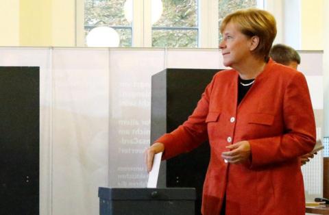 Ангела Меркель отдала свой г…
