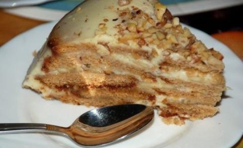 Холодный торт «Песочный рай»…