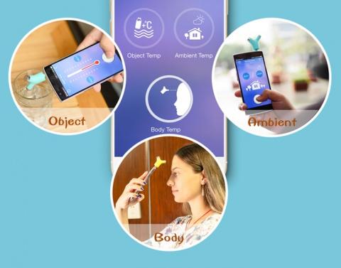 Бесконтактный термометр Wishbone