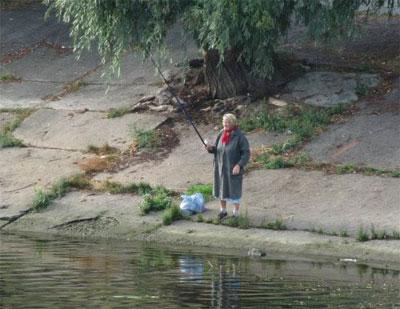 Прикольная рыбалка.Подборка фото и видео.