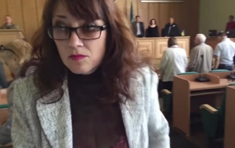 Украинская чиновница «наплевала» на погибших боевиков «АТО»