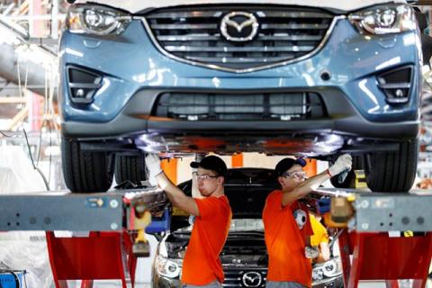 Mazda строит второй завод в Приморском крае РФ