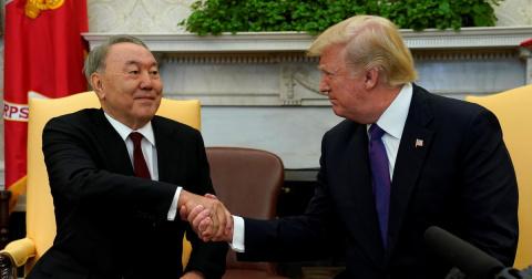 Трамп и Назарбаев нашли замену «Минску»