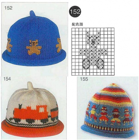 Схемы жаккардовые для вязания и вышивки