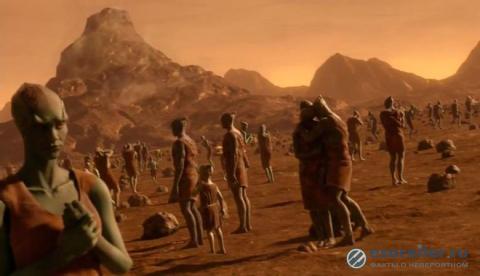 Известный уфолог нашел гуманоидов на свежем фото Марса