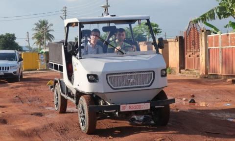 Бюджетный электрический внедорожник для Африки