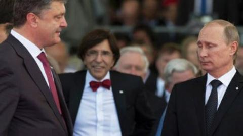 «А нас за що?!» — Путин рассказал об истерике Порошенко