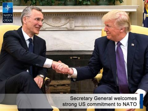 Брюссельские смотрины: Трамп…