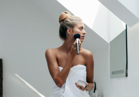 Как с помощью макияжа сделать кожу здоровой и сияющей