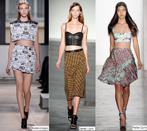 Разновидности, варианты и типы юбок по длине