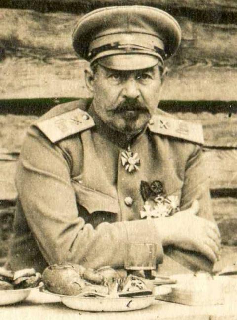 Николай Бржозовский — коменд…