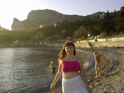Бело-розовое море