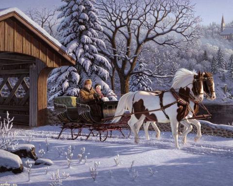 Пока есть снег – жива Россия…