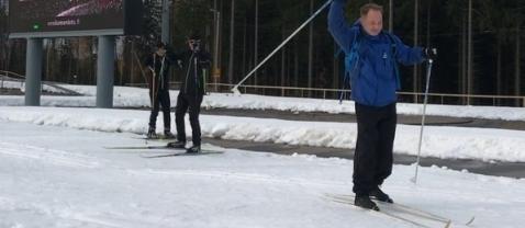 В Финляндии открылась лыжня из прошлогоднего снега
