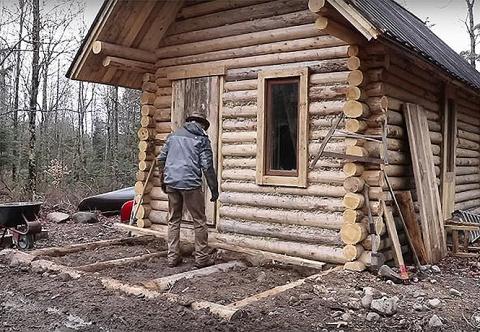 Как построить дом в лесу без…