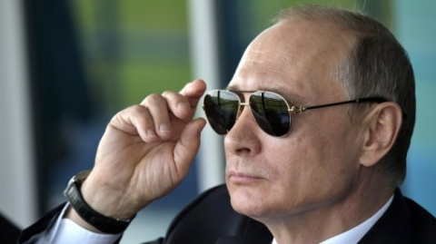 Иностранцы встретили Путина …