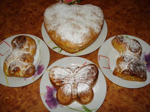 Быстренько наводим тесто... И кексы, пироги, тортики  готовы!