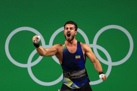 Иранские олимпийские чемпион…