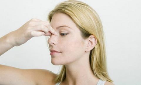 Массаж от застоя в пазухах носа