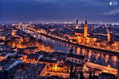 Один из красивейших городов …