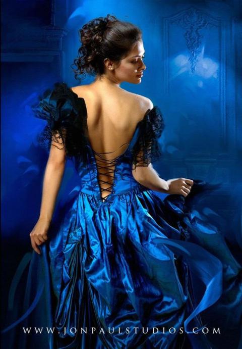 Портрет красивой женщины. Арт версия