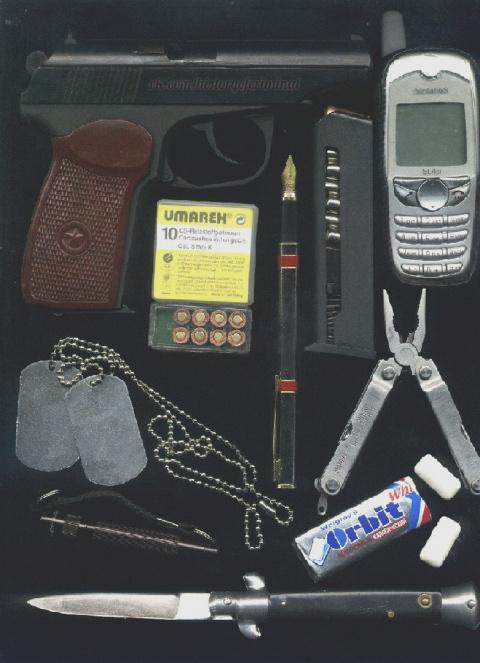 Набор молодого бандита конца 90-х — начала 2000-х годов.