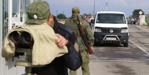 Республика Крым забаррикадир…