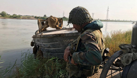 "Сирия: Москва и Дамаск, наплевав на США, ""перешли границу у реки"""