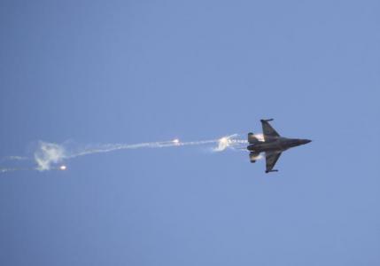 Израильские военные самолеты…