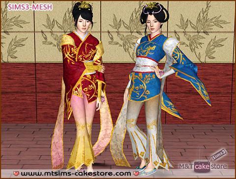 Азиатский костюм от QingshuangTongzi