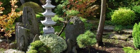 Японский сад камней — раскры…