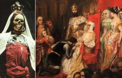 Самая жуткая коронация в истории, или Португальская легенда о любви, победившей смерть
