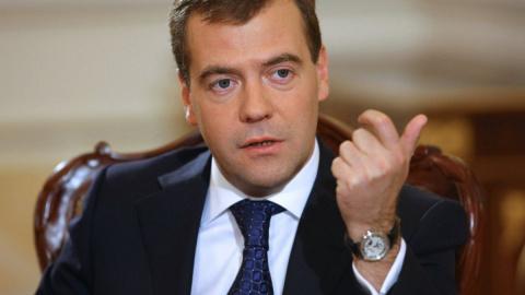 Под Дмитрием Медведевым зака…