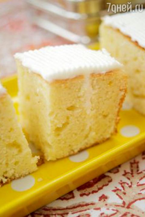Лимонные пирожные: рецепт от…