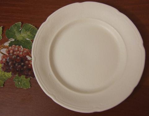 Декупаж старой тарелки