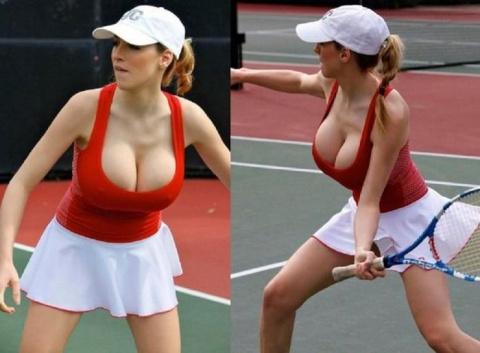 Интересный женский теннис (19 фото)