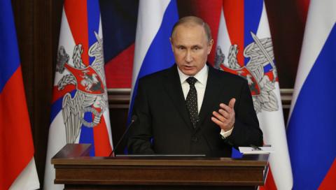 Президент России призвал резервистов на военные сборы