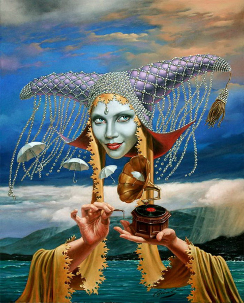 Сюрреализм и иллюзии Michael Cheval