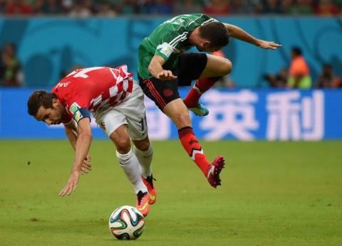 Хорватия — Мексика — 1:3.